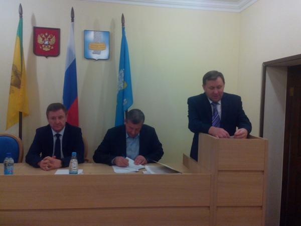 Александр Водопьянов назначен главой администрации Городищенского района