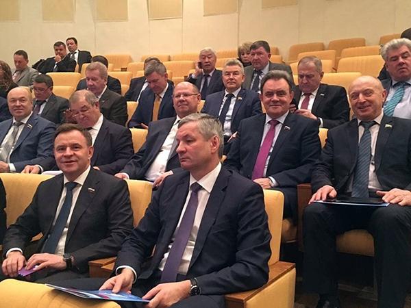 Евгений Лебедев принял участие в совещании Совета законодателейРФ